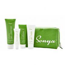 مجموعة سونيا الخضراء للرعاية اليومية للبشرة المختلطة2